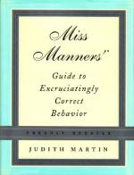 Miss Manners Book